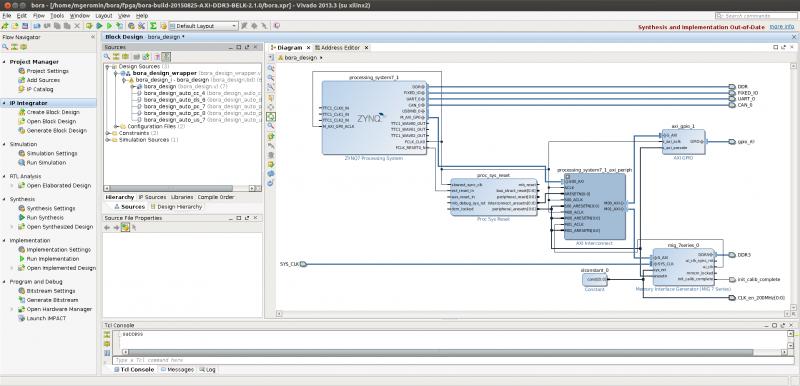 BELK-AN-003: Interfacing DDR3 SDRAM to PL - DAVE Developer's